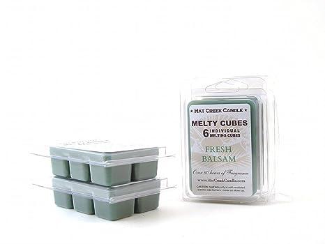 Amazon.com: Cera Aromática (Fresh Balsam 2pk Melty Cube ...