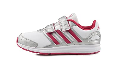 100% authentic 7913d 6ed5c adidas LK Sport CF K Running Shoes Girls White Size 10.5k Amazon.co.uk  Shoes  Bags