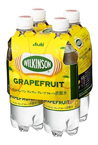 【新商品】アサヒ飲料 ウィルキンソン タンサン グレープフルーツ マルチパック 500ml×4本 10%OFF
