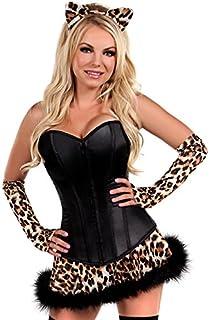 cca3b6a20 Daisy corsets Women s 4 Piece Miss Naughty Nurse Costume  Amazon.co ...
