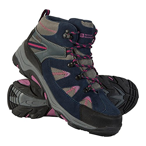 Mountain Warehouse Rapid Womens Boots Waterproof Summer Walking Shoes Berry 8 M US Women