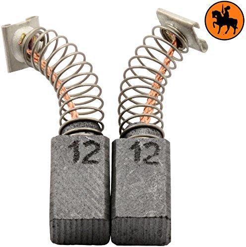 Avec arr/êt automatique Balais de Charbon pour HITACHI DH 24PB marteau 2.4x2.8x4.7 6,5x7,5x12mm