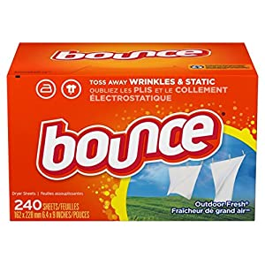 Ratings and reviews for Bounce Fabric Softener Sheets, Outdoor Fresh, 240 Count