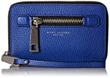 Marc Jacobs Gotham Zip Phone Wristlet Clutch Cobalt Blue, Cobalt Blue, One size