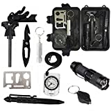 10 in 1 Emergency Survival Kits, Multi Professional Outdoor Survival Tools ...