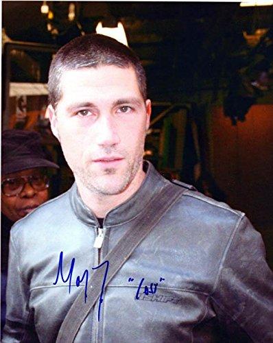 Matthew Fox Signed Autographed 8x10 Lost Photo - Signed Fox Photo Matthew