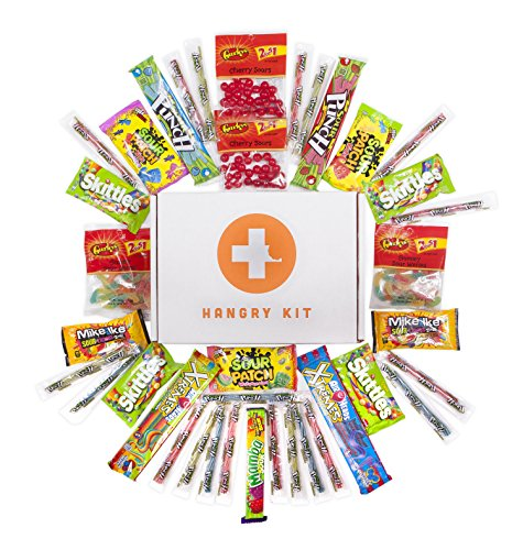 Hangry Kit - Super Duper Sour Kit - Candy Sampler (36 Count) - Care Package - Gift Pack