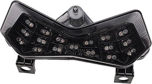 Int Tail Blk/Smk ZX6R/ Z1000/Z750 W/Park Lt by Comp Werkes