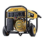Cat RP7500E Gas Powered Portable Generator with Electric Start - 7500 Running...