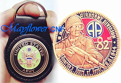 mayflower-cnf-coin-leather-holder-us-army-82nd-airborne-division-americas-guard-of-honor-d-day-honor