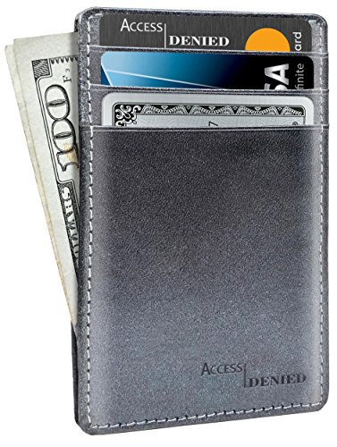 Leather Credit Card Holder Wallets