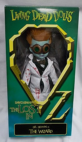 Living Dead Dolls - The Lost In OZ Exclusive Emerald City Variant - Dr. Dedwin as The Wizard Variant - Exclusive Living Dead Dolls