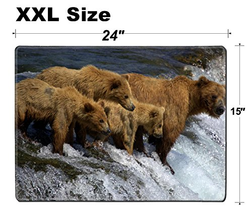 Luxlady Extra Large Mouse Pad XXL Extended Non-Slip for sale  Delivered anywhere in USA