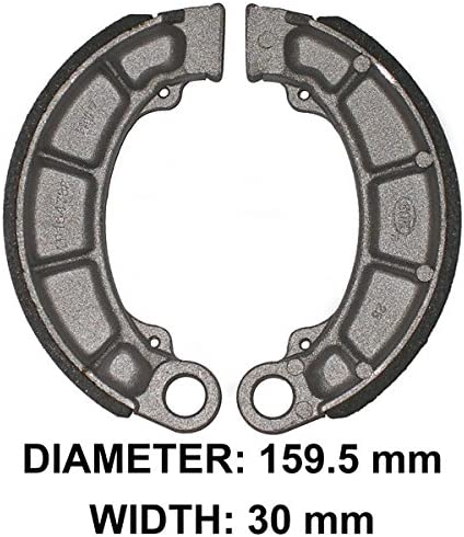ArmorTech Brake Shoes Rear Compatible with Honda 2014 2015 14 15 TRX500 TRX 500 Foreman
