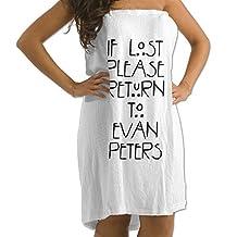 Adult If Lost Please Return To Evan Peters Microfiber Travel Towel