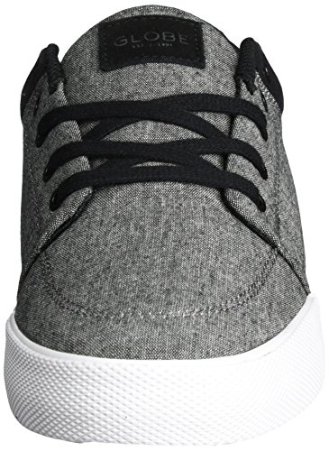 Globe Gs, Men's Skateboarding Shoes Grey (Black Chambray/White)
