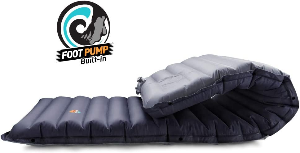 ZOOOBELIVES Extra Thickness Inflatable Sleeping Pad with Built-in Pump Most Comfortable Camping Mattress for Backpacking Airlive2000 Car Traveling and Hiking Compact and Lightweight