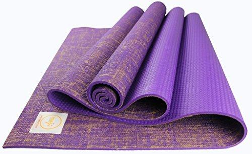Maji Sports Jute Yoga Mat by Maji Sports
