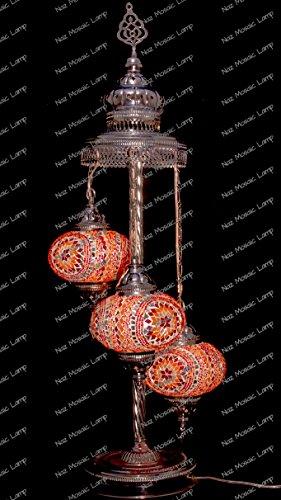 - Turkish Lamp,Arabian Mosaic Lamp,Mosaic Lamp,Flooring Lamp,