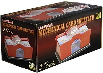 Hand Cranked Card Shuffler (2-Deck)
