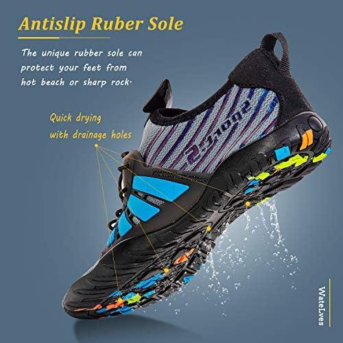 51flRWJ2%2BML. AC Water Shoes Mens Womens Beach Swim Shoes Quick-Dry Aqua Socks Pool Shoes for Surf Yoga Water Aerobics    Product Description
