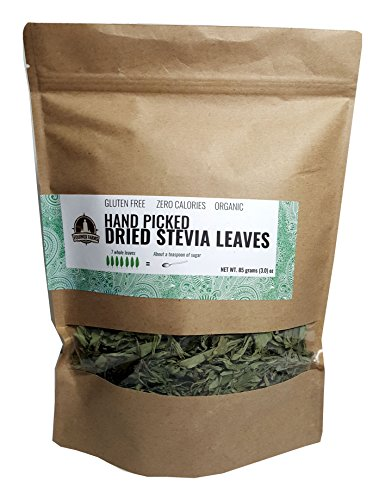 Stevia Leaves (DRIED STEVIA LEAVES HAND PICKED NET WT. 3.0)