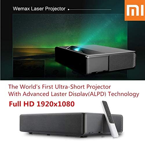 Amazon.com: Mi Laser Ultra-Short Throw Projector 150 inch ...