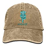 Elephant Namaste Yoga Balance Humour Gym Karma LOL Denim Hat Baseball Cap