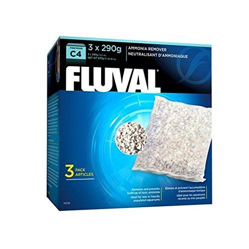 - Fluval C4 Ammonia Remover - 3-Pack