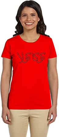 PTB W-NK108 T-Shirts Printed Short Sleeve For Women