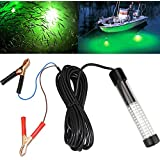 Lightingsky 12V 10.8W 180 LEDs 1080 Lumens LED Submersible Fishing Light Underwater Fish Finder Lamp with 5m Cord