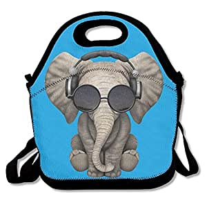Amazon.com: Elephant Glasses Galaxy Lunch Bags Insulated