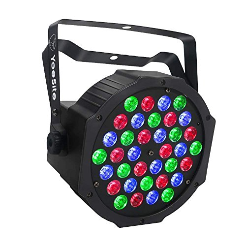 LED Stage Lights, YeeSite 36LEDs Par Lights by Remote and DMX Control for Church Wedding Stage Lighting Birthday ()
