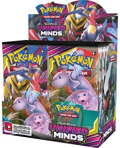 Pokemon TCG: Sun & Moon Unified Minds Booster Box (Best New Pokemon Sun And Moon)