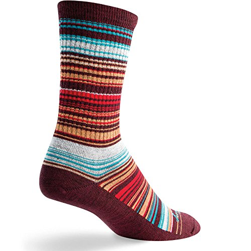 Sock Guy Wool Bike Sock - SOCK GUY Horizon Wool Socks Brown L/XL