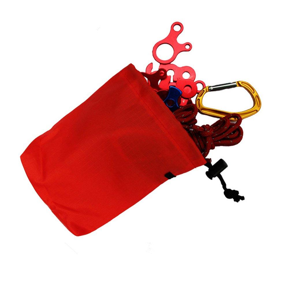KaariFirefly Mignon Mini Camping Escalade Portable Cordon de Serrage Sac de Rangement Gadget Pouch