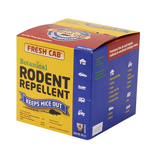 Fresh Cab Rodent Repellent, 4 Pouches