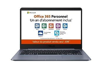 2bcff2aba18067 Asus Vivobook E406MA-BV112TS PC portable 14 quot  Ombre foncée Finition  métallique (Intel