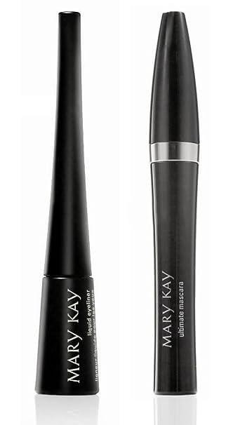 adb117969ed Amazon.com : Mary Kay Eye Makeup Bundle - 2 Items: Mary Kay® Ultimate  Mascara Black, Mary Kay® Liquid Eyeliner Black : Eye Liners : Beauty