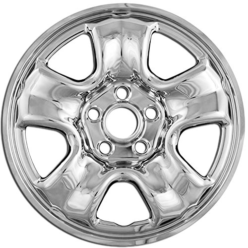 Set of 4 Wheel Covers Auto Tire Replacement Exterior Cap Cover OxGord 16 inch Hubcap Wheel Skins for 2000-2016 Toyota Tacoma- Car Accessories for 16inch Chrome Wheels