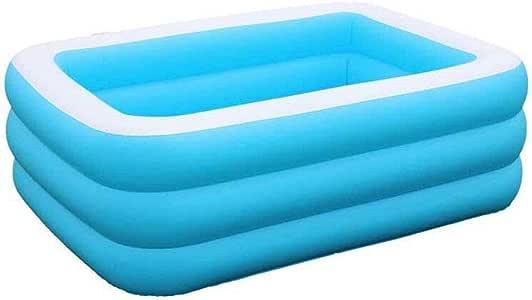 HEROTIGH Piscinas Hinchables Inflable Familiar Grande Piscina De Bolas Marinas Gruesa Casa 3 Metros Inflatable Pool: Amazon.es: Hogar