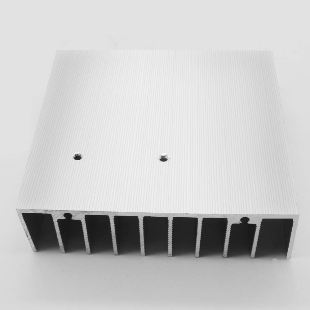 Aluminum Heat Sink Heatsink Module 3X 2.76x 0.85 inch Perforated Heat Sink Cooler with Hole Fit for Electronic Computer Electrical Facilities