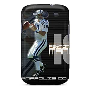 Shockproof Hard Phone Case For Samsung Galaxy S3 (MXr8699zPRh) Customized Nice Indianapolis Colts Image