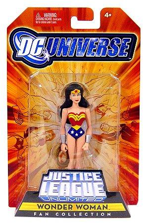 DC Universe Justice League Unlimited Fan Collection Action Figure Wonder Woman