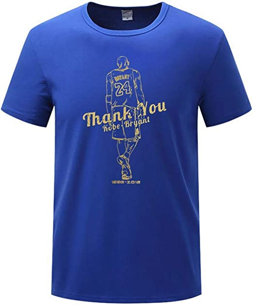 HS-QIAN1 24# Kobe Bryant Camiseta Conmemorativa De La NBA De Manga ...