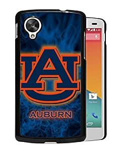 NCAA Auburn Tigers 7 Black Hard Shell Phone Case For Google Nexus 5