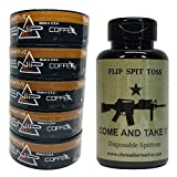 Nip Energy Dip - 5ct Coffee - Includes Mud Bud Disposable Spittoon - Tobacco Free (Come & take It MB)