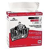 Brawny Industrial Medium-Duty Premium Wipes, 9