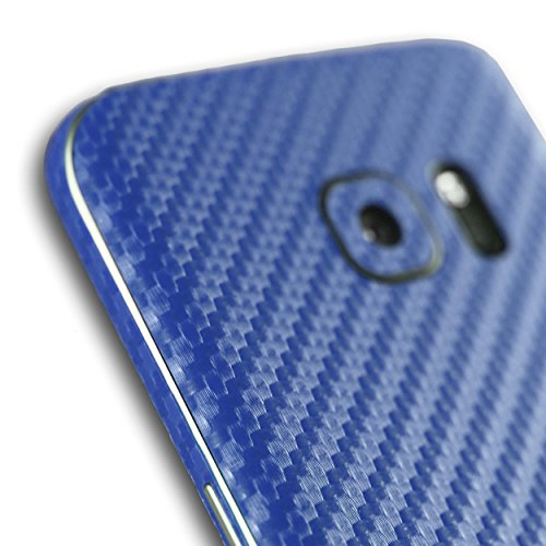 AppSkins Vorderseite Samsung Galaxy S7 Carbon blue