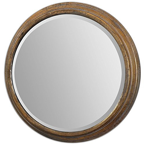 Uttermost 12864 Cerchio Mirror, Gold